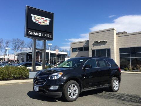 Mosaic Black Metallic 2017 Chevrolet Equinox LT AWD