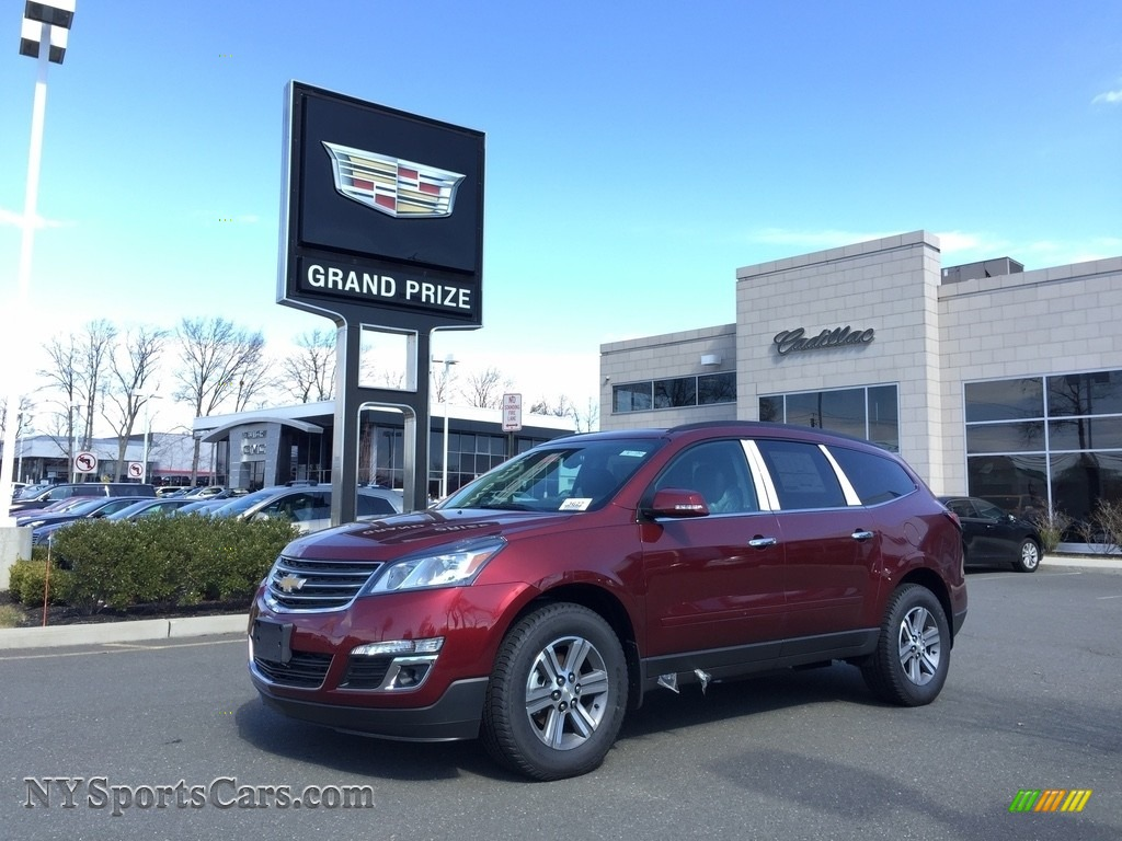 2017 Traverse LT AWD - Siren Red Tintcoat / Ebony photo #1