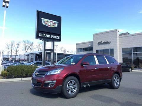 Siren Red Tintcoat 2017 Chevrolet Traverse LT AWD