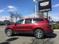 Chevrolet Traverse LT AWD Siren Red Tintcoat photo #6