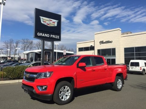 Red Hot 2017 Chevrolet Colorado LT Crew Cab 4x4