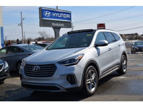 Circuit Silver 2017 Hyundai Santa Fe Limited Ultimate AWD