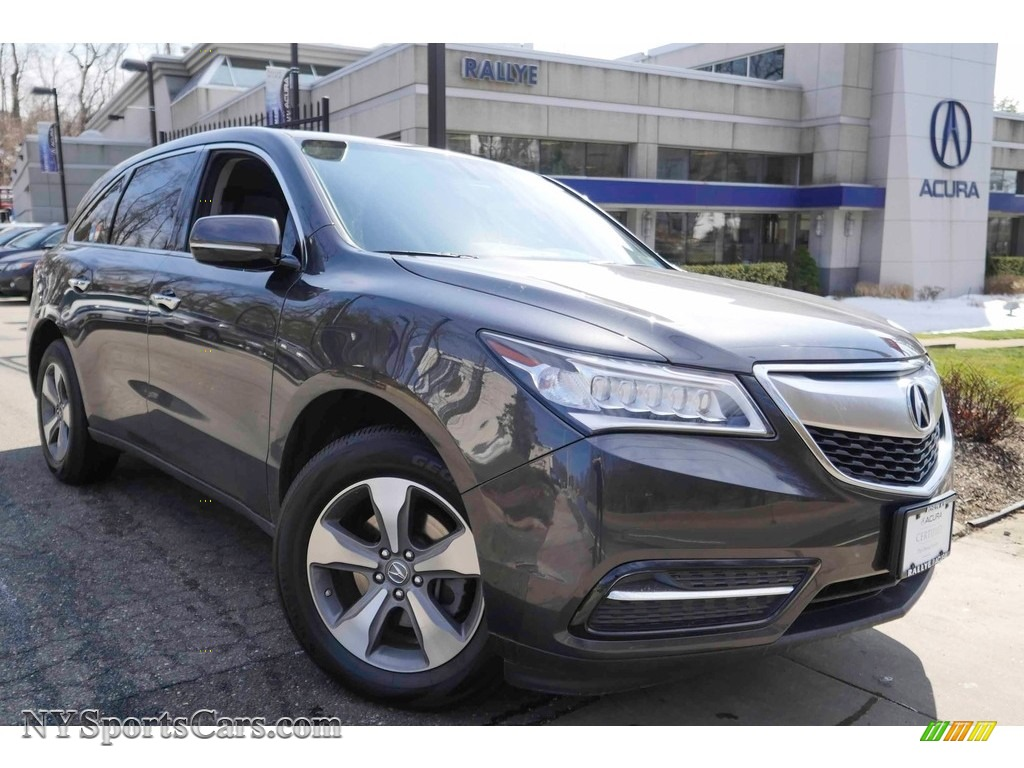 2014 MDX SH-AWD - Graphite Luster Metallic / Ebony photo #1