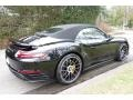 Porsche 911 Turbo S Cabriolet Black photo #6