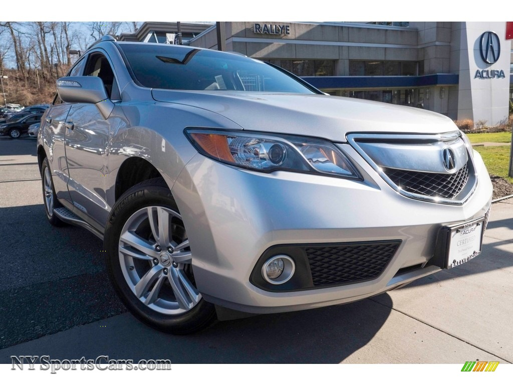 2014 RDX Technology AWD - Forged Silver Metallic / Ebony photo #1