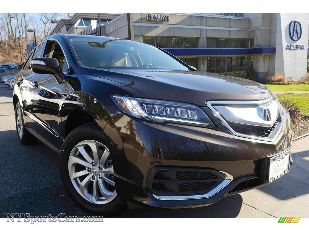 2017 RDX AWD - Kona Coffee Metallic / Parchment photo #1