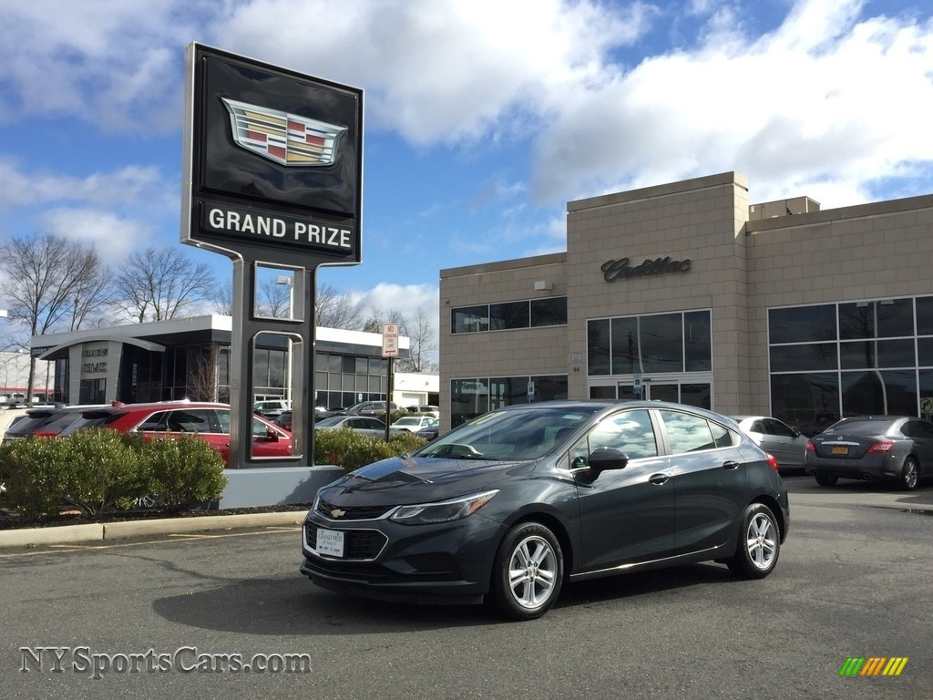 2017 Cruze LT - Graphite Metallic / Jet Black photo #1