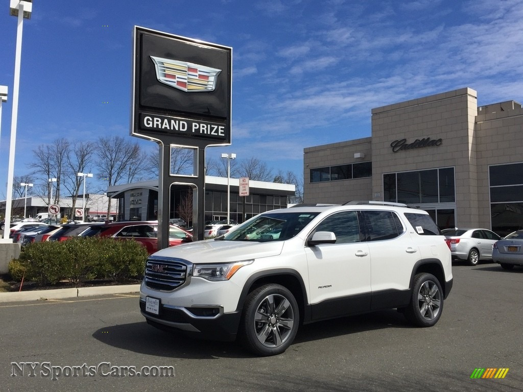 2017 Acadia SLT AWD - White Frost Tricoat / Jet Black photo #1