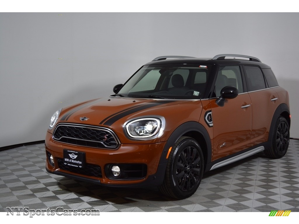 2017 Countryman Cooper S ALL4 - Chestnut / Carbon Black photo #1