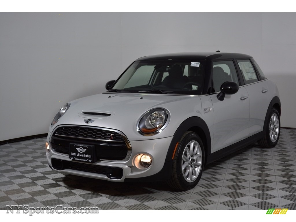 2017 Hardtop Cooper S 4 Door - White Silver Metallic / Carbon Black photo #1