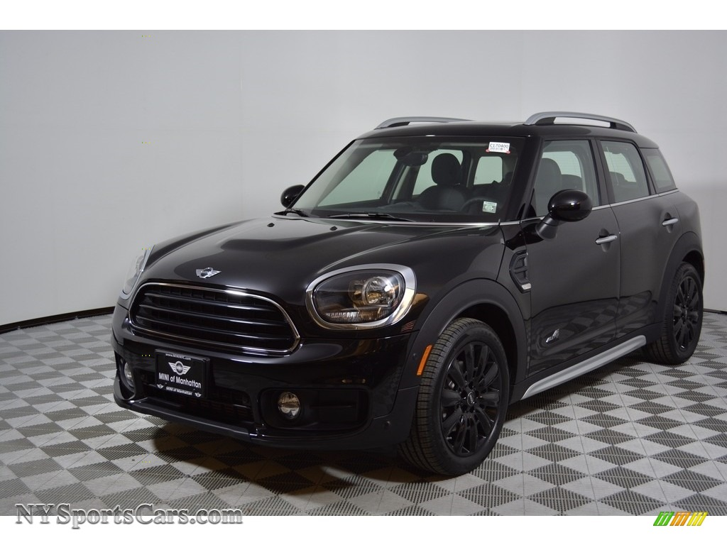 2017 Mini Countryman Cooper All4 In Midnight Black