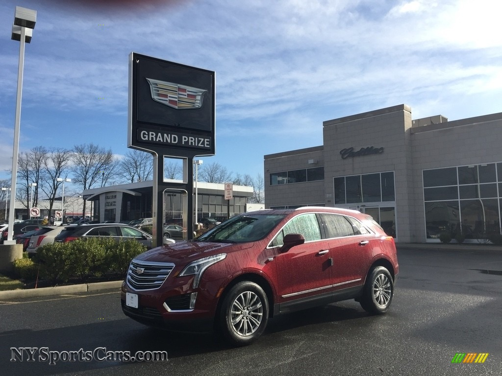 Red Passion Tintcoat / Sahara Beige Cadillac XT5 Luxury AWD