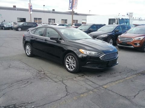 Shadow Black 2017 Ford Fusion SE
