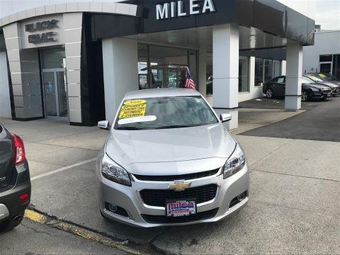 Silver Ice Metallic 2016 Chevrolet Malibu Limited LTZ