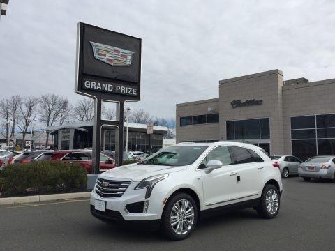 Crystal White Tricoat 2017 Cadillac XT5 Premium Luxury AWD