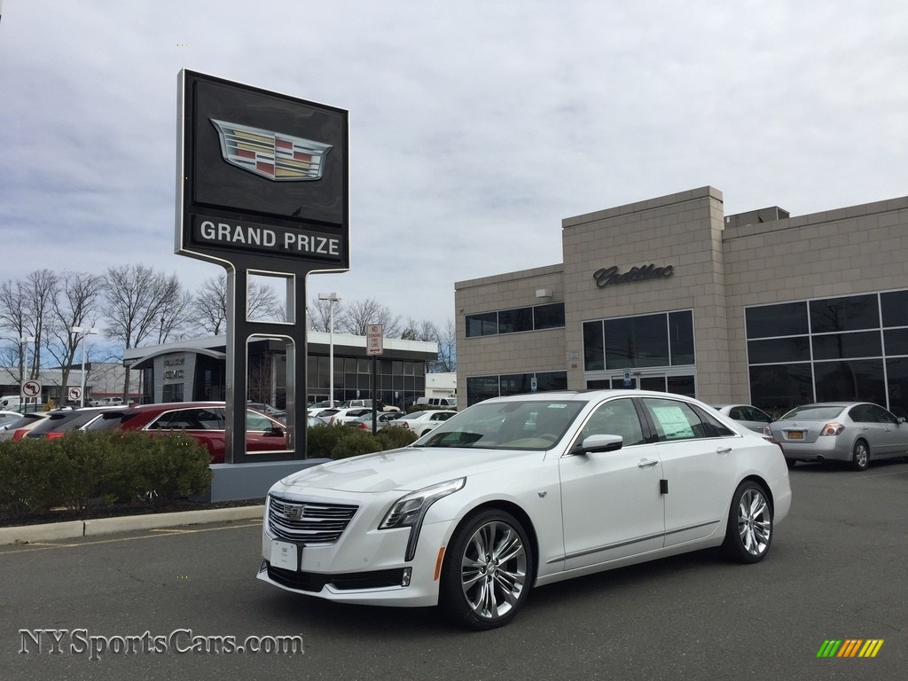 2017 Cadillac Ct6 3 0 Turbo Platinum Awd Sedan In Crystal White Tricoat 175085 Nysportscars