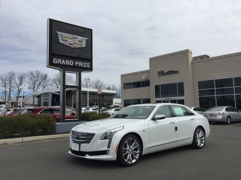 Crystal White Tricoat 2017 Cadillac CT6 3.0 Turbo Platinum AWD Sedan
