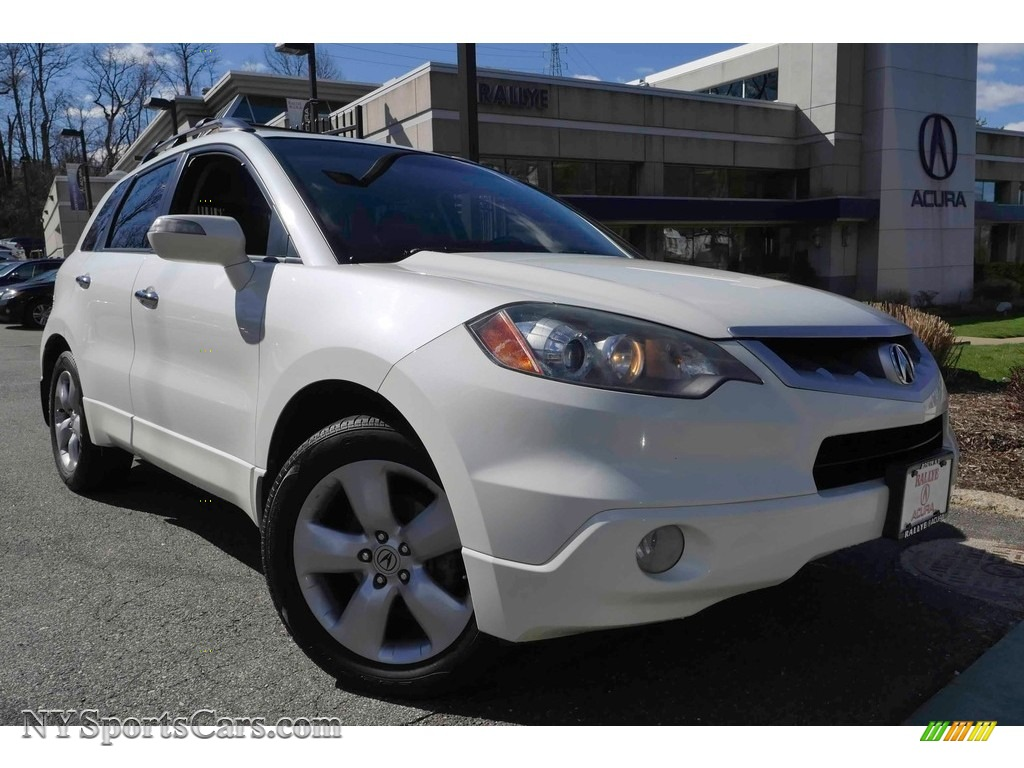 2009 RDX SH-AWD - White Diamond Pearl / Ebony photo #1