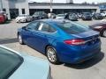 Ford Fusion SE Lightning Blue photo #6