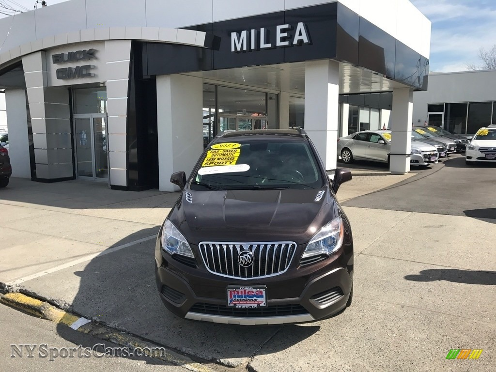 Deep Espresso Brown Metallic / Ebony Buick Encore