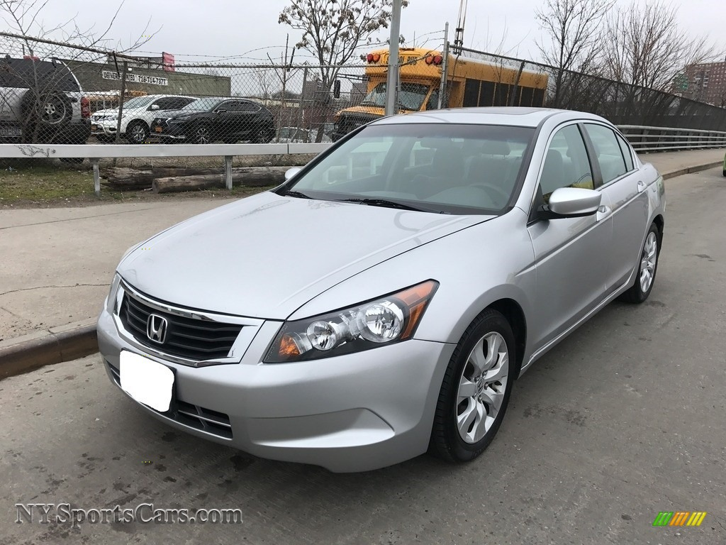 Alabaster Silver Metallic / Gray Honda Accord EX Sedan