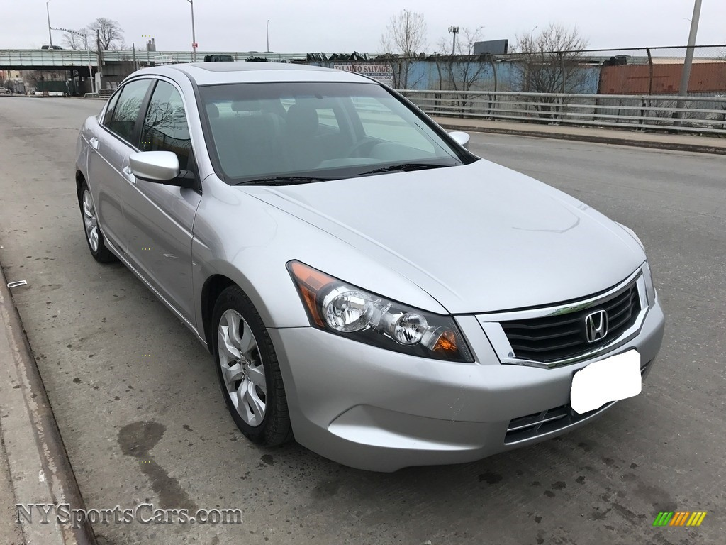 2010 Accord EX Sedan - Alabaster Silver Metallic / Gray photo #2