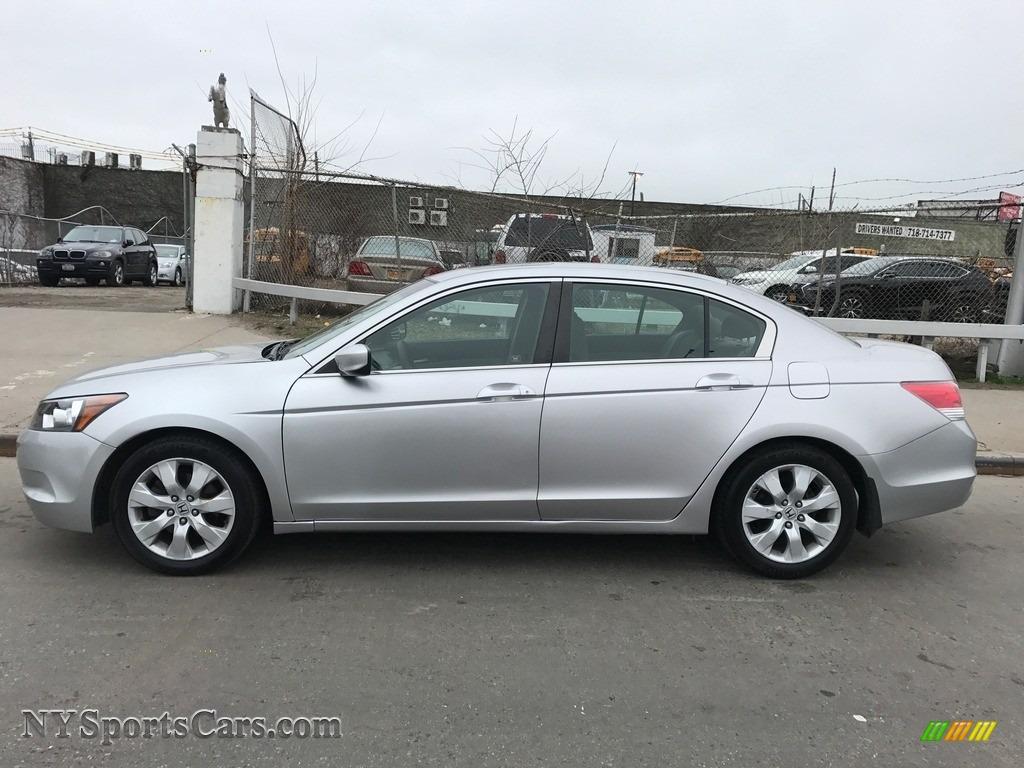 2010 Accord EX Sedan - Alabaster Silver Metallic / Gray photo #8