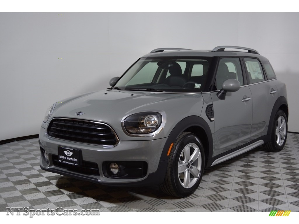 2017 Countryman Cooper - Moonwalk Grey Metallic / Carbon Black photo #1
