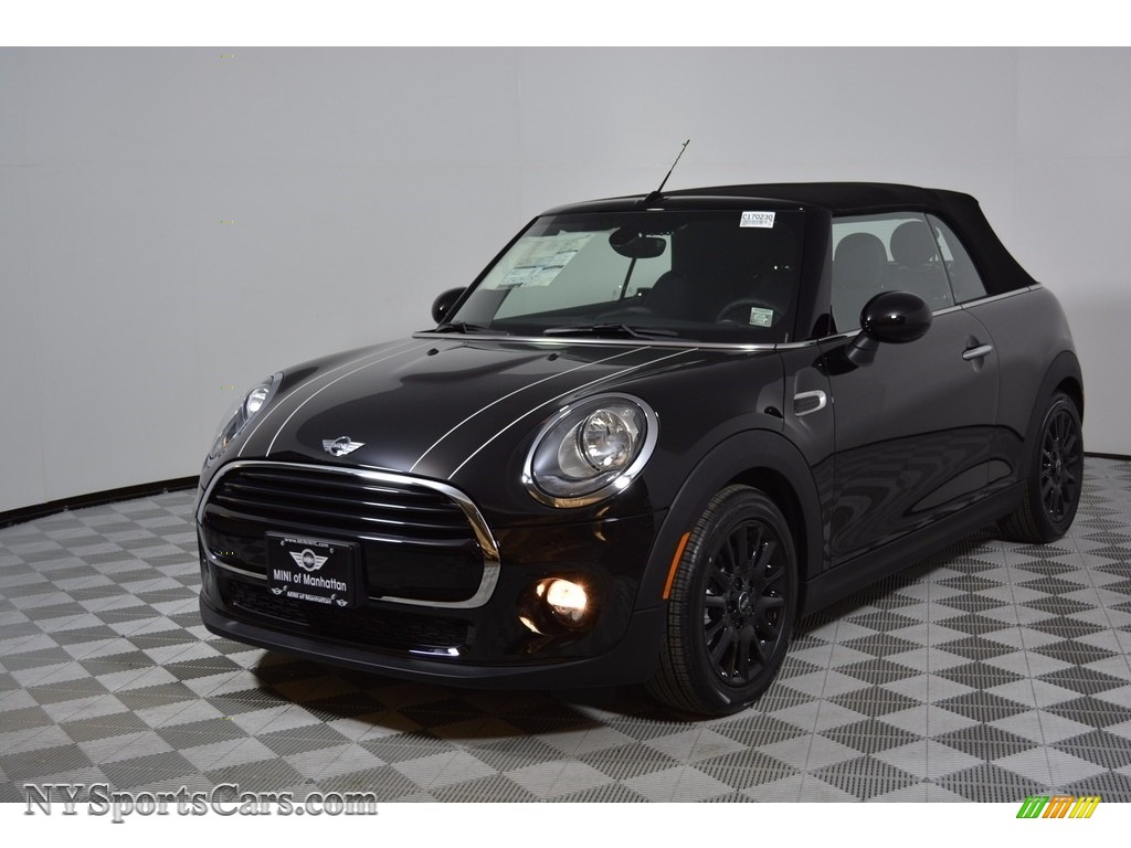 2017 Convertible Cooper - Midnight Black Metallic / Carbon Black photo #1