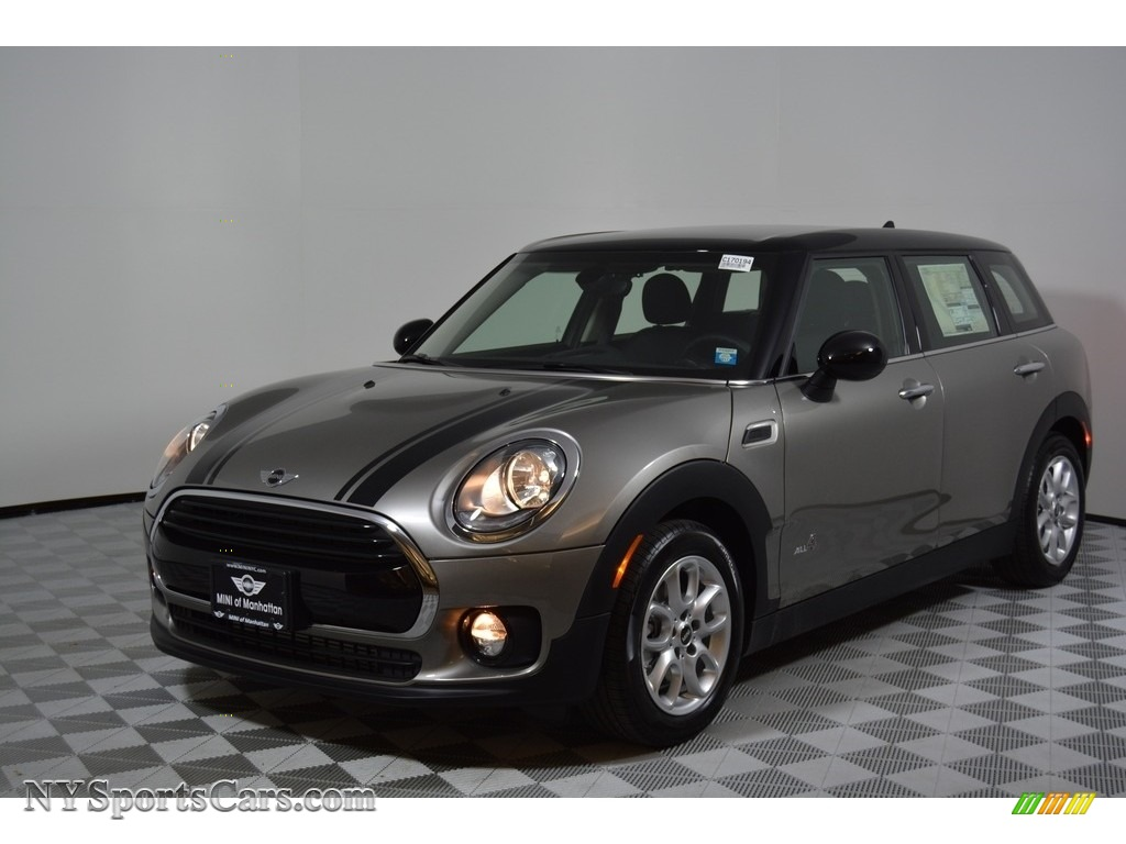 2017 Clubman Cooper ALL4 - Melting Silver Metallic / Carbon Black photo #1