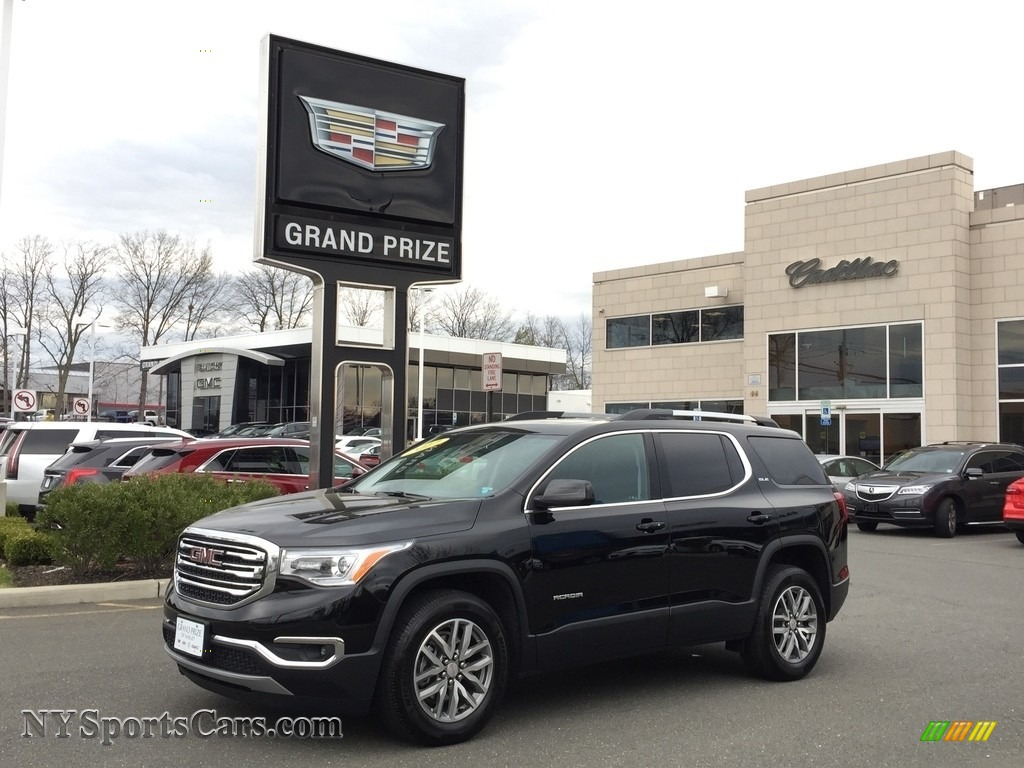 2017 Acadia SLE AWD - Ebony Twilight Metallic / Jet Black photo #1