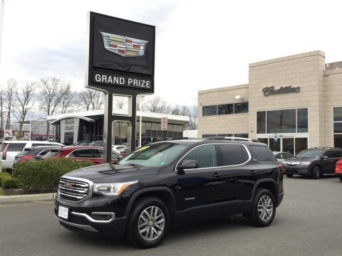 Ebony Twilight Metallic 2017 GMC Acadia SLE AWD