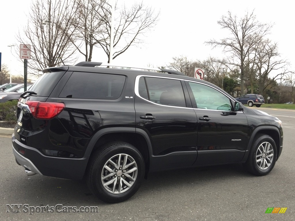 2017 Acadia SLE AWD - Ebony Twilight Metallic / Jet Black photo #5