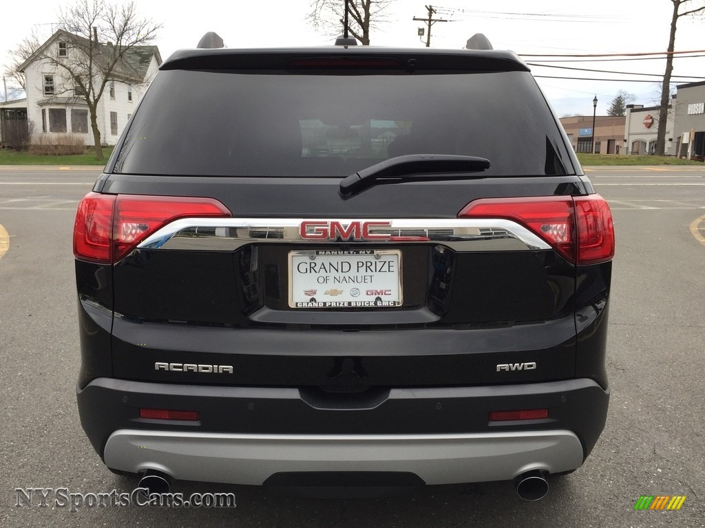 2017 Acadia SLE AWD - Ebony Twilight Metallic / Jet Black photo #6