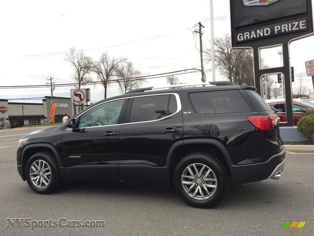 2017 Acadia SLE AWD - Ebony Twilight Metallic / Jet Black photo #7