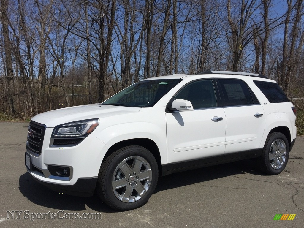 Summit White / Ebony GMC Acadia Limited AWD