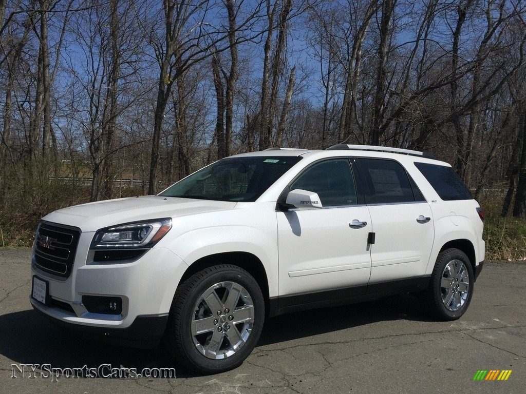 2017 Acadia Limited AWD - White Frost Tricoat / Ebony photo #1