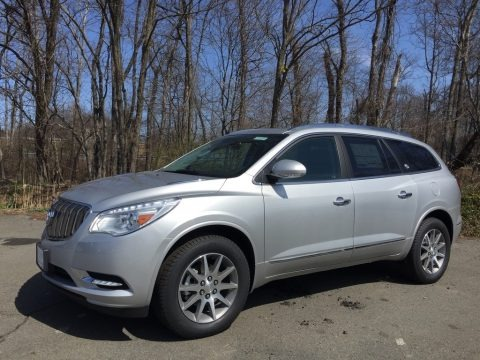 Quicksilver Metallic 2017 Buick Enclave Leather AWD