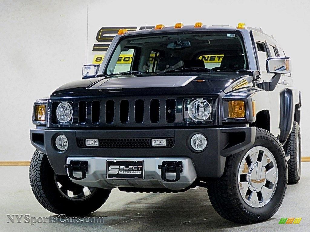 Black / Ebony/Pewter Hummer H3
