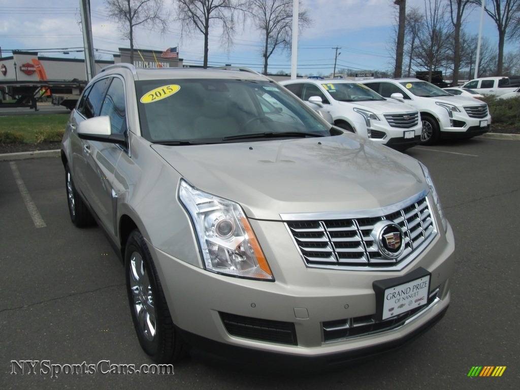 2015 SRX Luxury AWD - Silver Coast Metallic / Shale/Brownstone photo #1