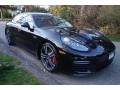 Porsche Panamera GTS Black photo #8