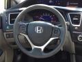 Honda Civic LX Sedan Alabaster Silver Metallic photo #14