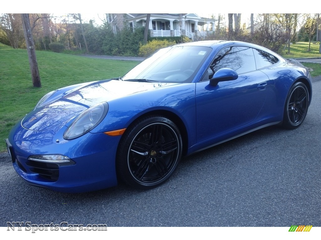 2015 911 Carrera 4 Coupe - Sapphire Blue Metallic / Yachting Blue photo #1