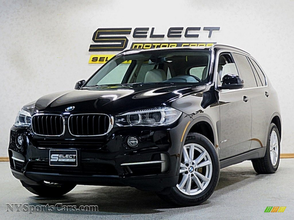 2014 X5 xDrive35i - Jet Black / Ivory White photo #1