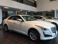 Cadillac CTS Luxury AWD Crystal White Tricoat photo #3