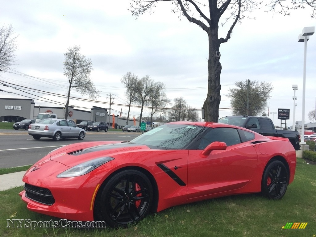 2017 Corvette Stingray Coupe - Torch Red / Jet Black photo #1