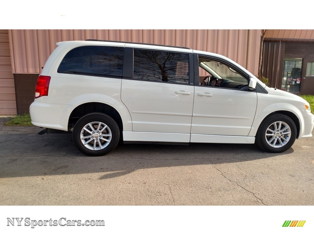 2013 Grand Caravan SXT - Stone White / Black/Light Graystone photo #5