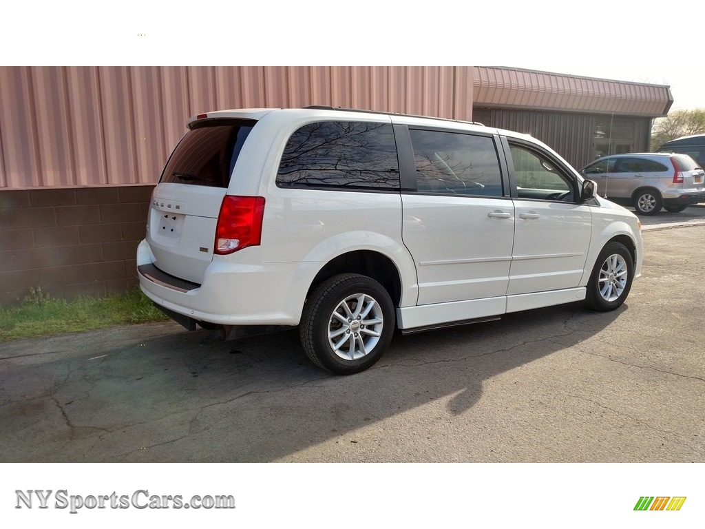 2013 Grand Caravan SXT - Stone White / Black/Light Graystone photo #6