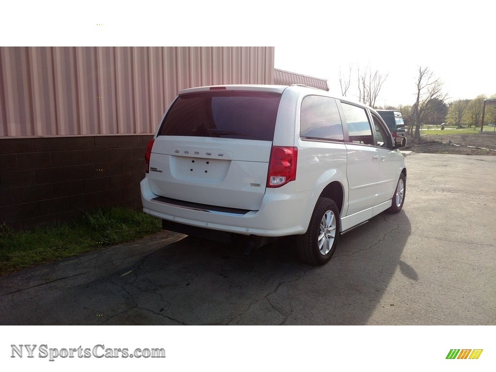 2013 Grand Caravan SXT - Stone White / Black/Light Graystone photo #7