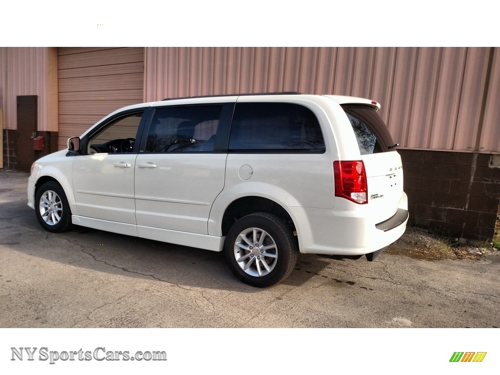 2013 Grand Caravan SXT - Stone White / Black/Light Graystone photo #10